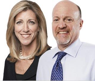 Stephanie Link and Jim Cramer